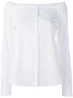 рубашка с открытыми плечами Theory