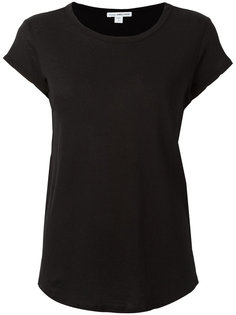curved hem T-shirt James Perse