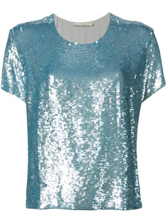sequined T-shirt Amen Amen.