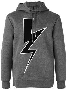 lightning bolt hoodie Neil Barrett