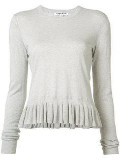 ruffled hem jumper Elizabeth And James
