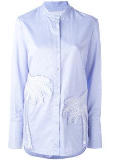 рубашка с принтом пальм Victoria Victoria Beckham