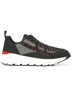 кроссовки со шнуровкой с панельным дизайном Dior Homme
