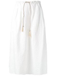 юбка миди с эластичным поясом Forte Forte