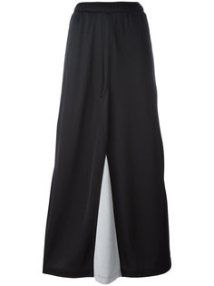 buttoned lateral straight skirt Marios