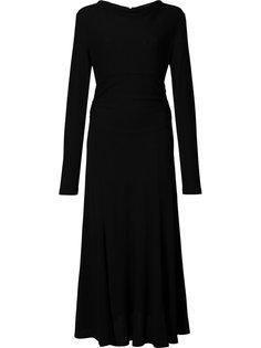 платье с длинными рукавами Derek Lam