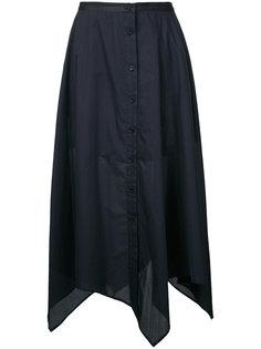 длинная юбка на пуговицах Lemaire