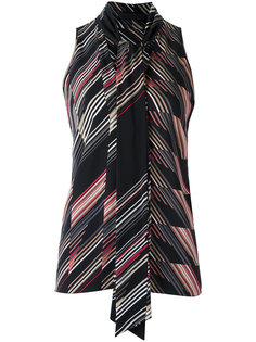 all-over print blouse Giuliana Romanno