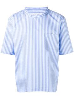 полосатая рубашка с короткими рукавами Comme Des Garçons Shirt