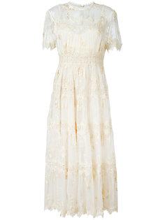 кружевное платье Zimmermann
