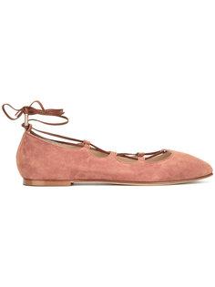 балетки со шнуровкой  Anna Baiguera