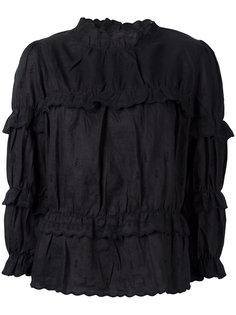 блузка с высокой горловиной Daniela  Isabel Marant Étoile