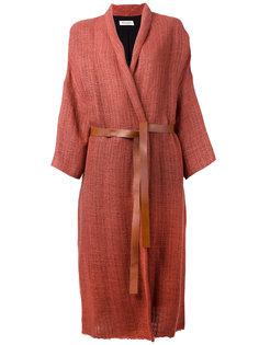 кардиган-пальто с шалевыми лацканами Masscob