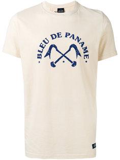футболка с логотипом  Bleu De Paname