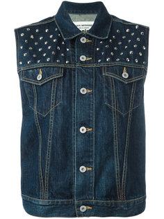 джинсовый жилет с заклепками Junya Watanabe Comme Des Garçons