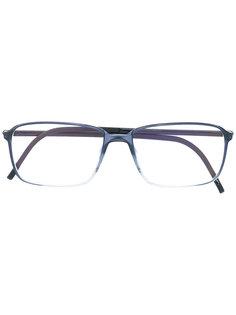очки в прямоугольной оправе Silhouette