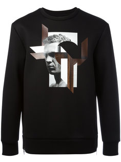 graphic print sweatshirt Neil Barrett