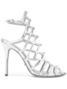 high shine sandals  Schutz
