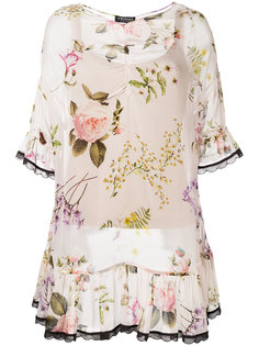 flared hem floral blouse  Twin-Set