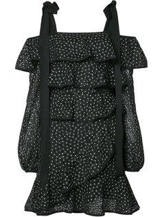многоярусное платье Farina Ruffle Rebecca Vallance