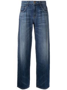 прямые джинсы Current/Elliott