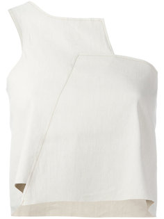 asymmetric one shoulder top  Charlie May