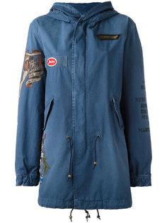 куртка с капюшоном и принтом на рукаве Mr & Mrs Italy