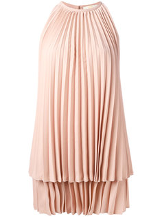 pleated dress Sara Battaglia