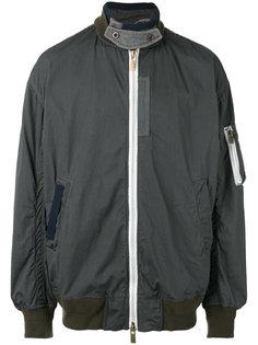 куртка-бомбер с карманом на рукаве Sacai