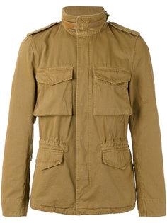 button down military jacket Aspesi