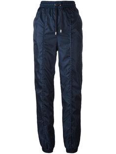 спортивные брюки на манжетах с завышенной талией Versus
