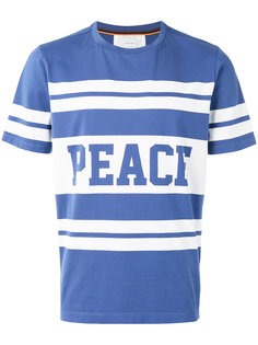 футболка с принтом peace Paul Smith