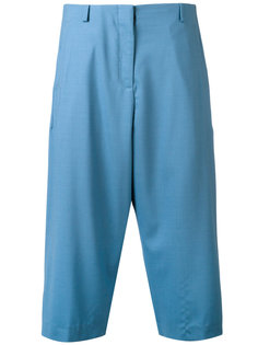 pleated cropped trousers Aalto