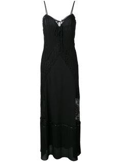 платье макси со шнуровкой McQ Alexander McQueen
