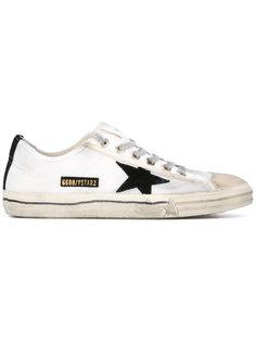 кроссовки со вставкой Golden Goose Deluxe Brand