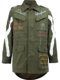 куртка с накладными карманами Maison Mihara Yasuhiro