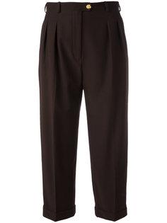 укороченные брюки со стрелкой Chanel Vintage