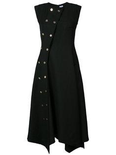 платье с двубортный дизайном Loewe