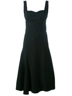 расклешенное платье Victoria Beckham