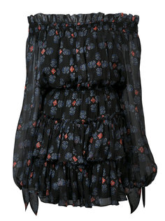 платье с открытыми плечаит Caroline Constas