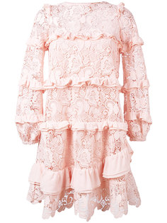кружевное платье макраме Nº21