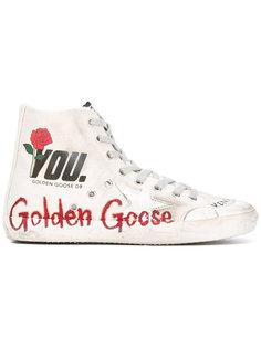 хайтопы Francy Golden Goose Deluxe Brand
