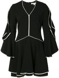 платье с контрастной окантовкой Jonathan Simkhai