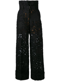 кружевные брюки Petar Petrov