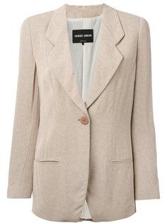 пиджак с заостренными лацканами Giorgio Armani
