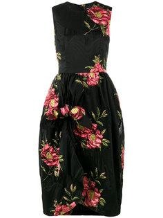 платье с цветочным рисунком Simone Rocha
