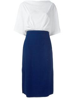 colour block dress Rossella Jardini