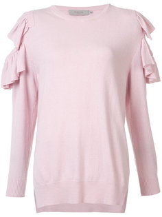 ruffle trim jumper  Preen By Thornton Bregazzi