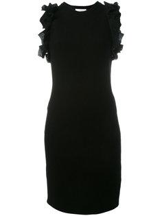 платье на молнии с оборками 3.1 Phillip Lim