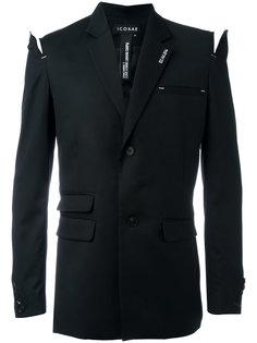 пиджак с прорезями на плечах Icosae